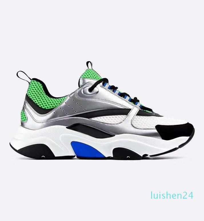 B22 Sneaker Calfskin Baskets homme bas chausse les femmes Casual Flat FOURGONS Retro Patchwork Luxe espadrille Lacets coton L24