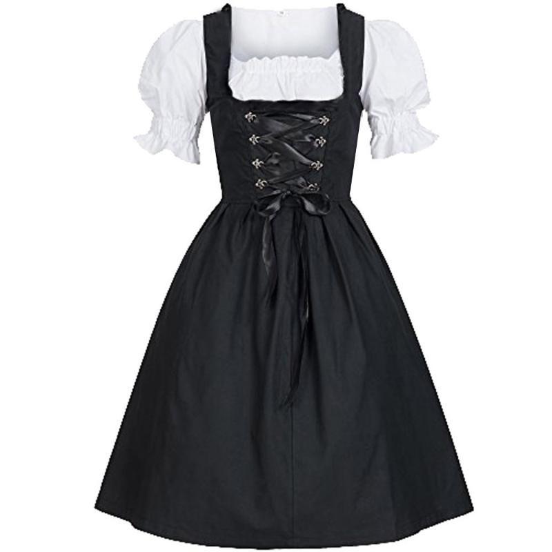 Lolita Partie Cosplay bière Festival maid costume robe pour femmes Oktoberfest fille d'été Nouveau style Taille Haute