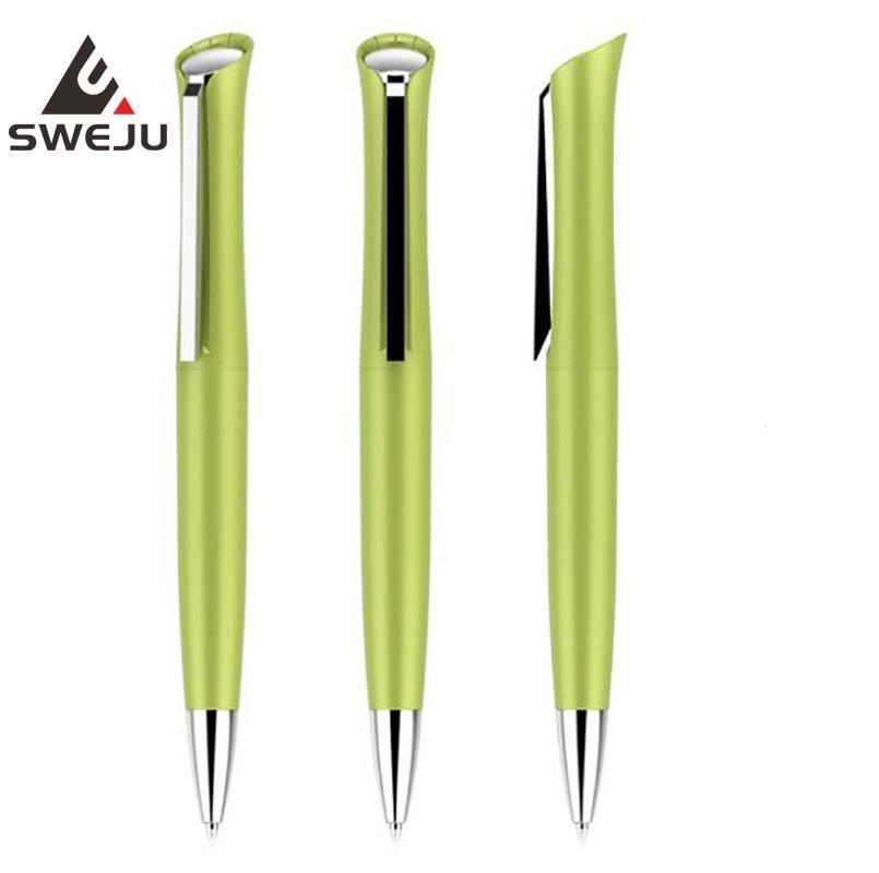 stylo entreprise stylo à bille tournante métal bureau école couleur bleu noir fournisseur de papeterie cadeau