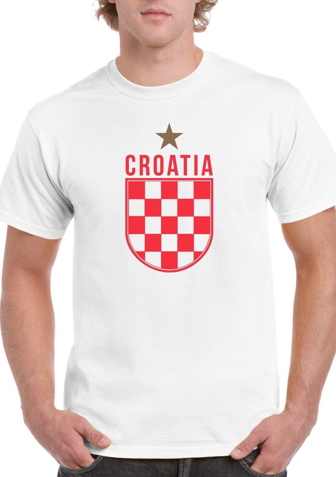 1fa6c747761 Croatia Gold Star T Shirt Croatian Red White Hrvatska World Men Women  Unisex Fashion Tshirt Funny Cool Top Tee White Design T Shirts Online Order T  Shirts ...