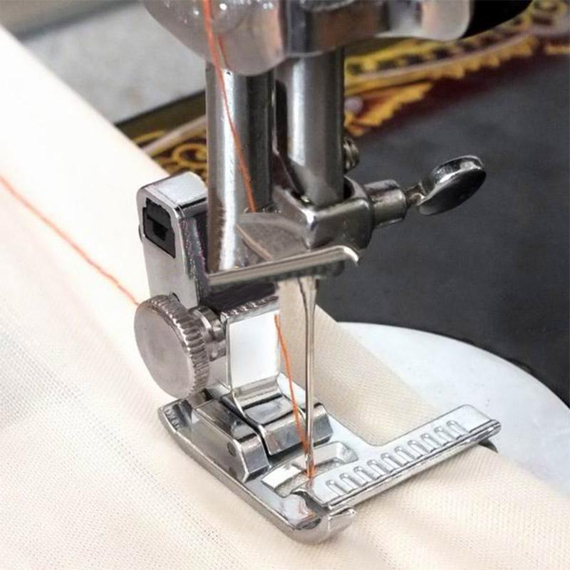 Pés costura SNAP com Ferramentas Guia Scaleplate Cross Stitch Pé Costura Máquina de Costura Acessórios Costura