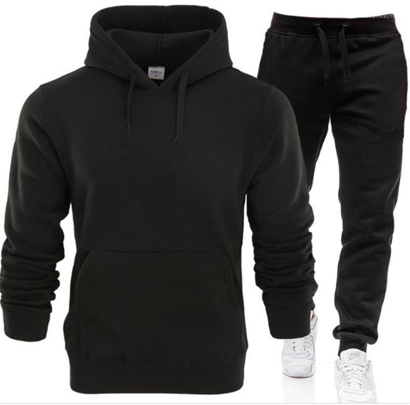Yalıtım Kaşmir Moda Hoodie kıyafetler Günlük Ev Giyim Katı Renk Suit Şık Erkekler Designer Hoodie Eşleştirme