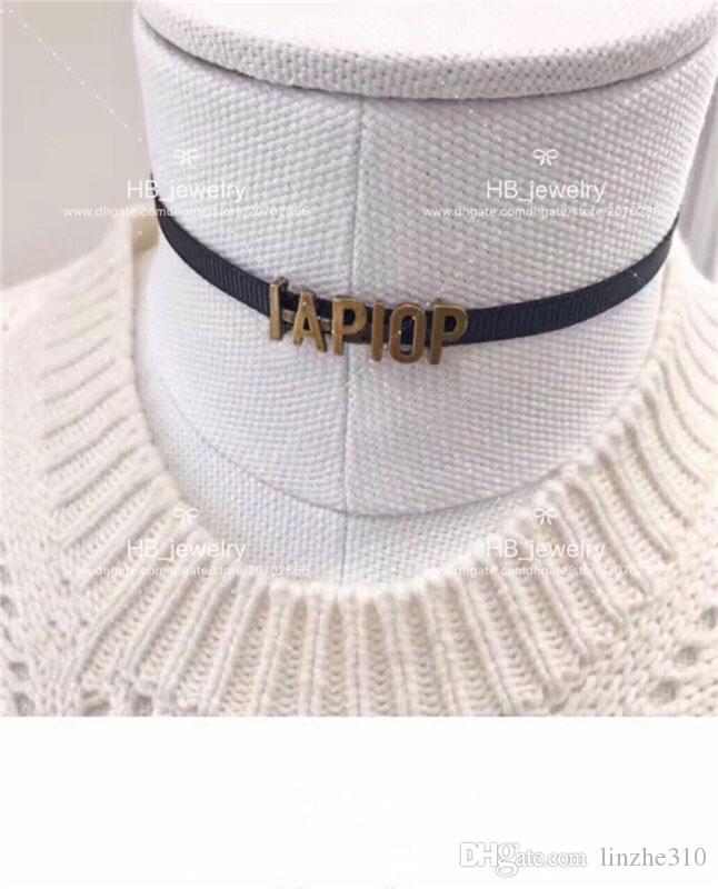 Оптовая продажа есть марки высокая версия дизайнер ожерелье колье для леди дизайн женщины партия свадебные любители подарок роскошные ювелирные изделия для невесты