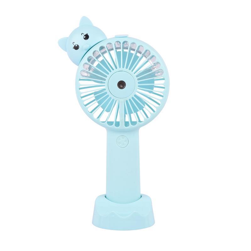 neue Cartoon fan spray feuchtigkeitsspendende kreative Handy Halterung kleine fan Multifunktions kleine fan dhl freies