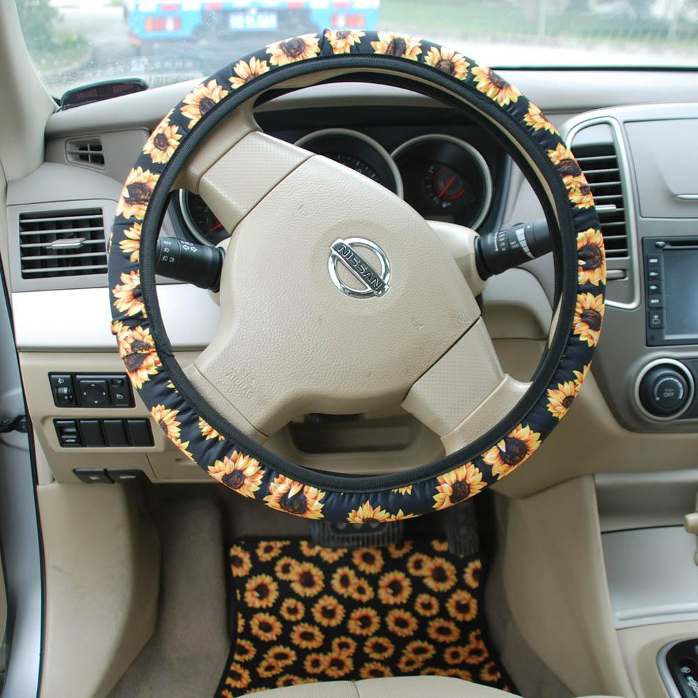 Outstanding 2019 Neoprene Sunflower Steering Wheel Cover Leopard Car Wheel Wraps Protection Wraps Car Accessories Decor Gift Dom106604 From Domil 191 25 Andrewgaddart Wooden Chair Designs For Living Room Andrewgaddartcom