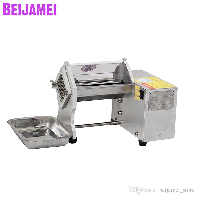 BEIJAMEI En gros Commercial chips de pommes de terre faisant la machine électrique frais douce coupe de coupe de patate machine à vendre