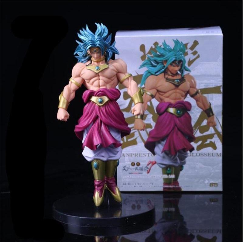 Dragon Ball Z sculture grande modellazione Budokai Tenkaichi 7 Broly PVC Action Figure Da Collezione Model Toy 22 cm