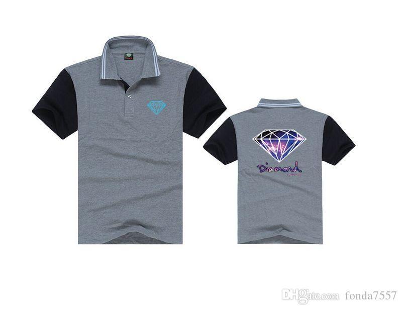 S252 мода мужские скейтборды хип-хоп поло твердые рубашка с коротким рукавом хлопок поло высокое качество мужской классический