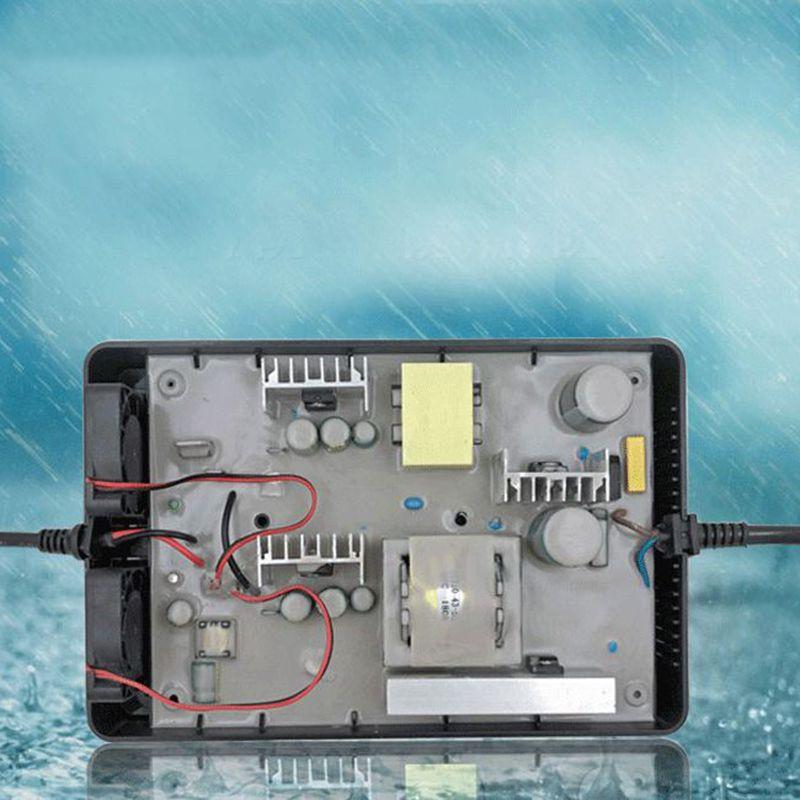 YZ330 72.5V 4.5A 4A Lead Acid Battery Waterproof Charger For 60V Battery Pack E-bike Aluminum Case