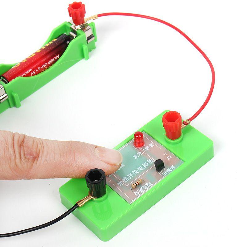controlado por la luz interruptor de la tarjeta photoresistresistance tripolar tecnología interesante experimento circuito componente electrónico