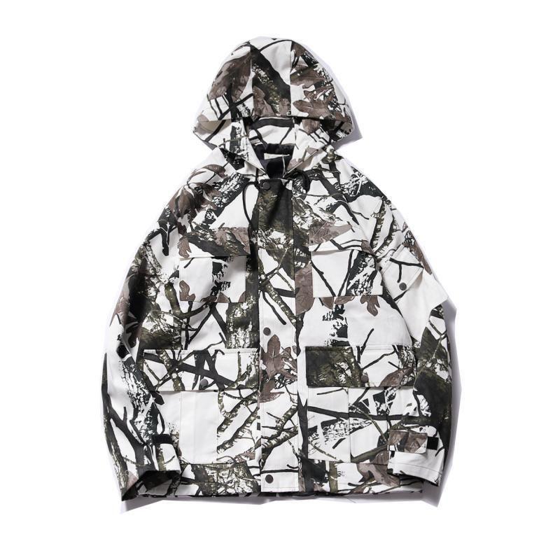 2019 Nuevas chaquetas de camuflaje para hombre de otoño Abrigos masculinos Chaqueta y abrigo de camuflaje Ropa de marca para hombre Ropa de abrigo
