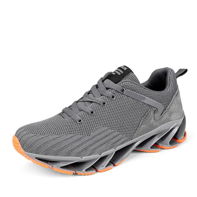 Super Cool scarpe da corsa per gli uomini traspirante Primavera lama di campeggio Scarpe Uomo Sneakers rimbalzo Estate Outdoor Sport Shoes