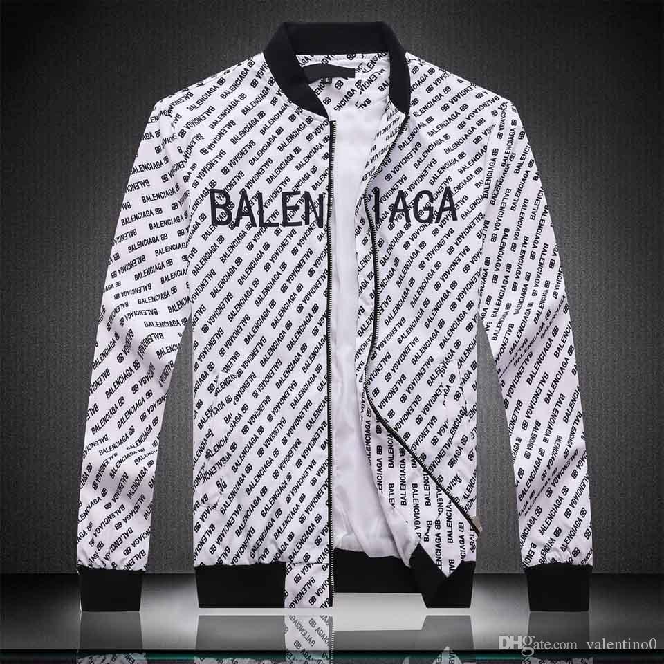 2019 heiße Luxus-Mode-Jacke der Männer mit langen Ärmeln Windjacke windrunner Herren-Reißverschluss wasserdichte Jacke Gesicht Nord Hoodiejacke Kleidung 34