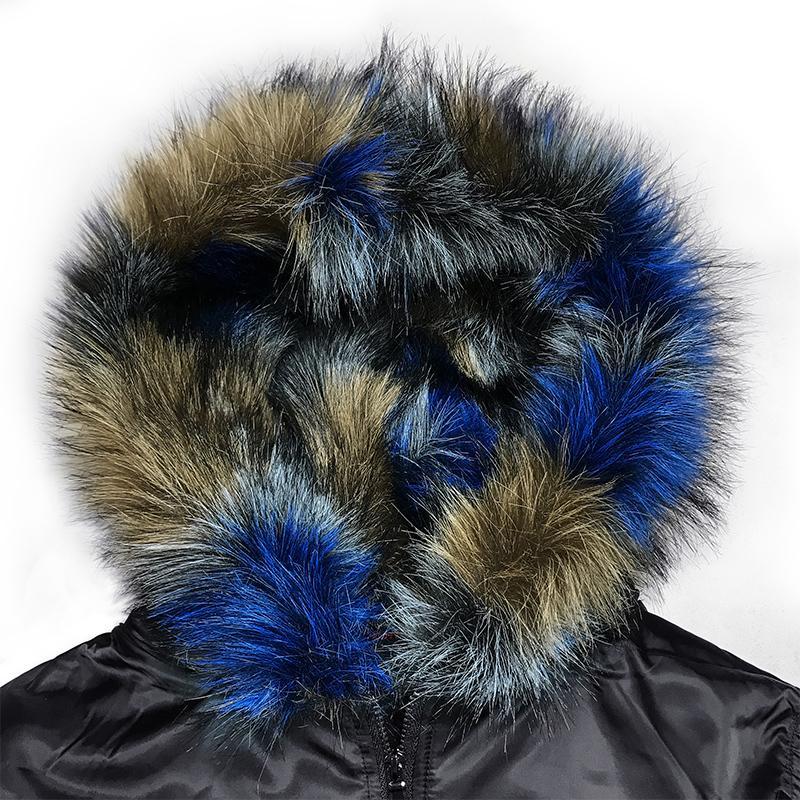 Collar de imitación SuedeMen Escudo 2020 invierno gruesa piel de la motocicleta de la chaqueta de los hombres de moda Manteau Homme Hiver Winterjas Heren