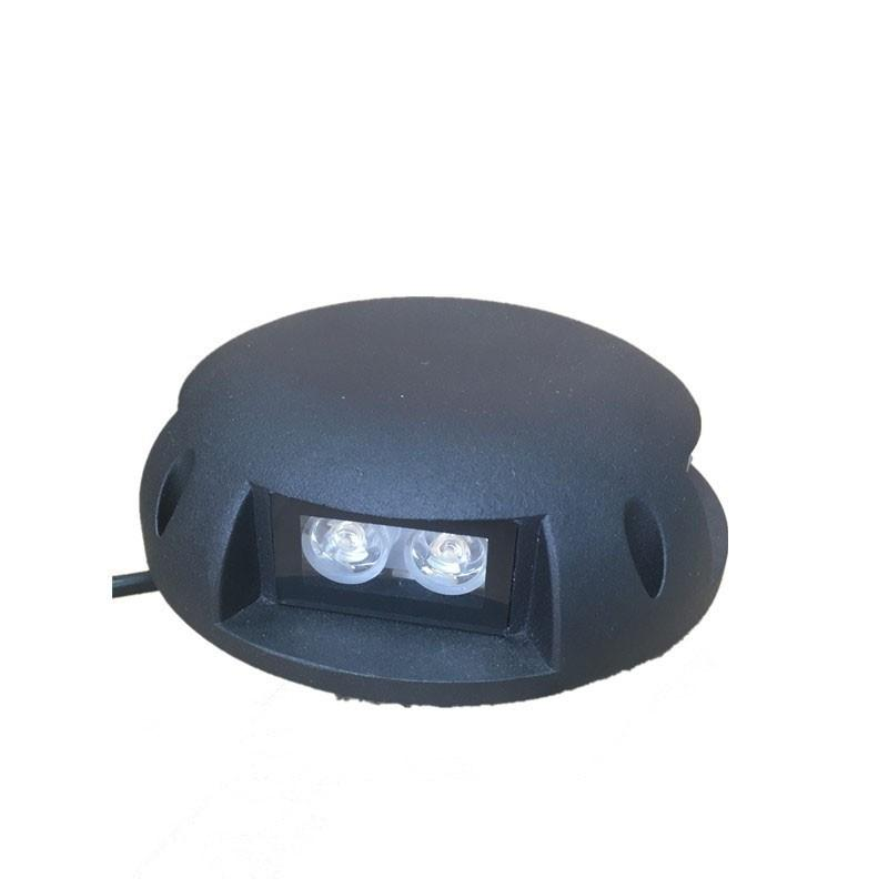 LED похоронен свет 4 Вт 8 Вт IP67 DC12V AC85-265V Открытый водонепроницаемый Встроенный свет палубы Подземный светильник Освещение тротуара