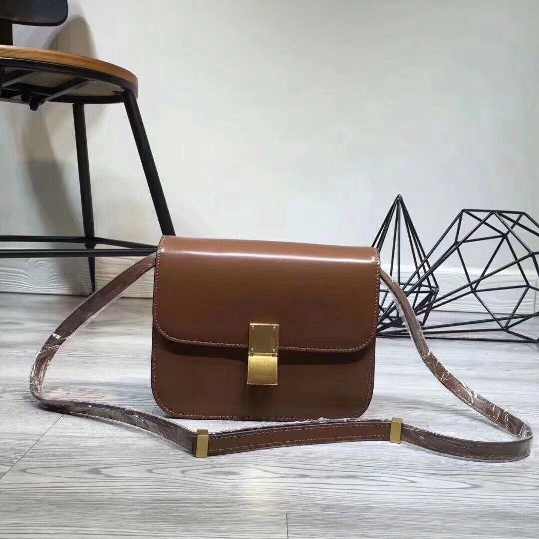 Vente Hot Design Femmes bonne qualité Celing Sac en cuir pour femme Place à bandoulière Messenger Bag Boîte d'embrayage Jour