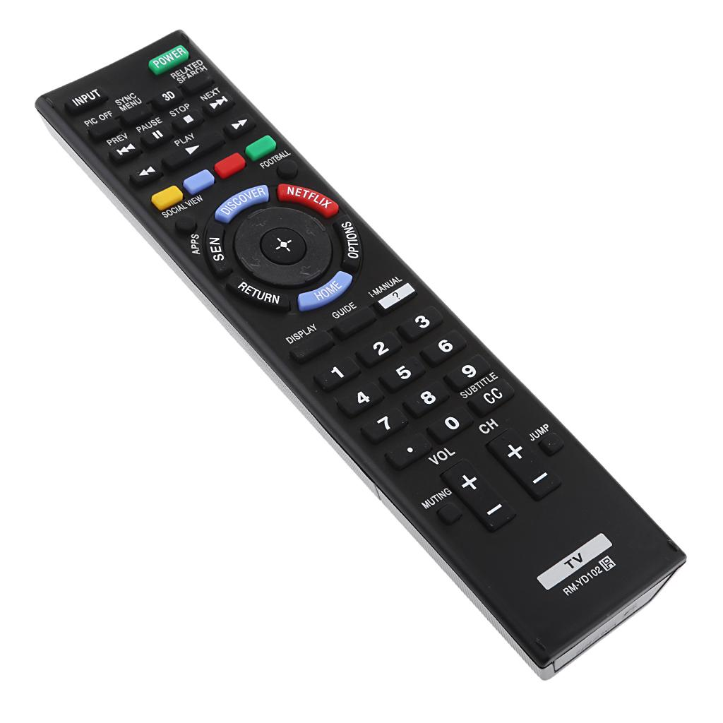 RM-YD102 Replacement TV Remote Control For Sony Television