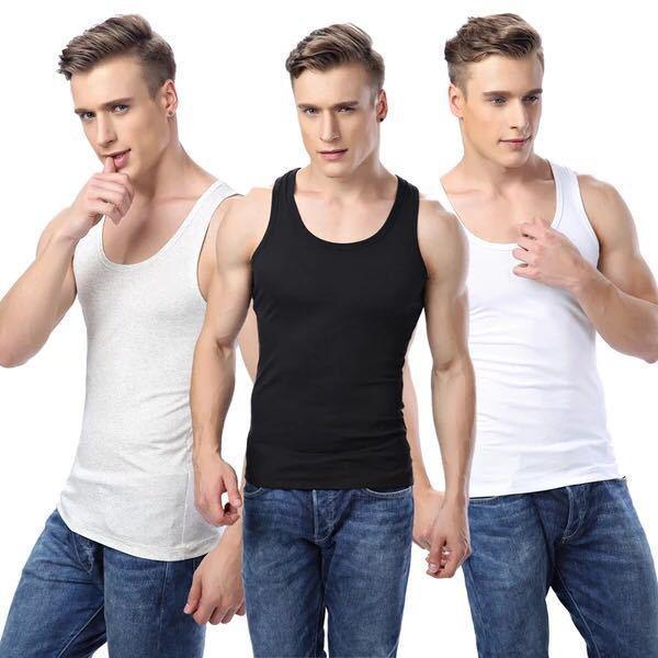 2020 Yeni Geliş Erkek Egzersiz Fitnes Giyim Erkek Yelek Katı Renk Rahat Yelek İç