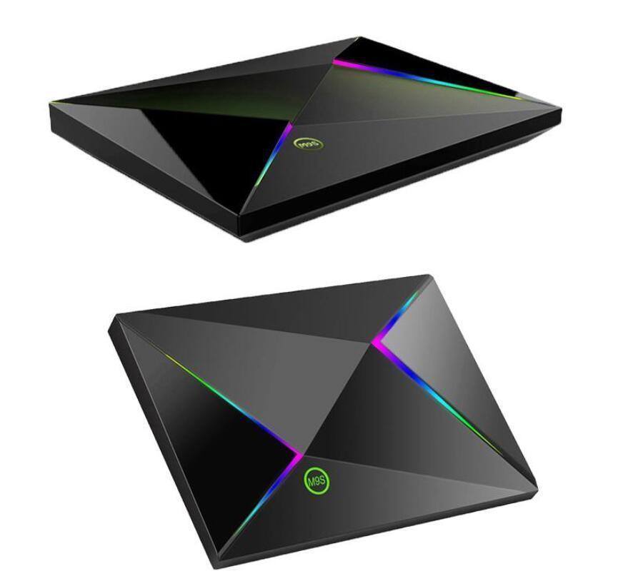 الروبوت أرخص M9S Z8 4GB 32GB 64GB ALLWINNER H6 9.0 مربع التلفزيون يتدفقون مجموعة كبار مربع H.265 6K جوجل لاعب مخزن MINI PC سائل الاعلام لاعب