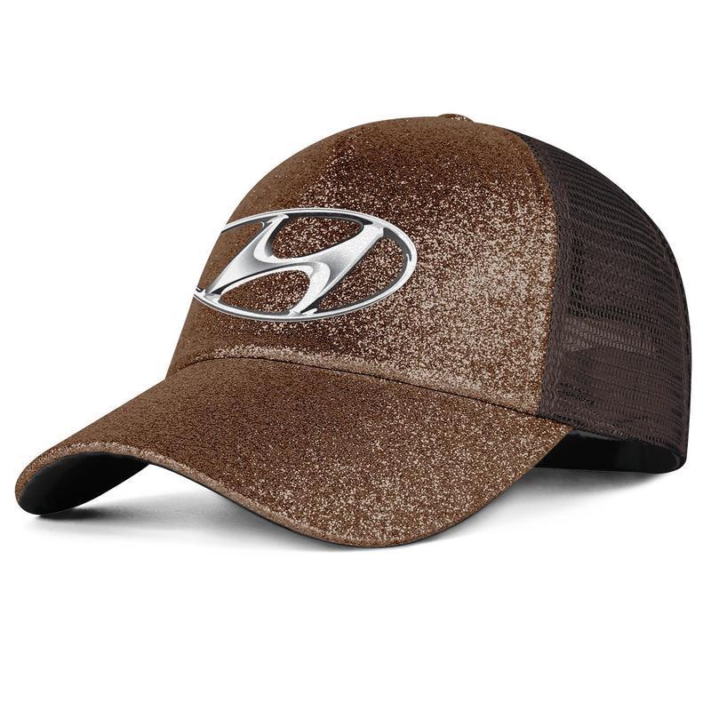 Hyundai homens e mulheres Logo Pony cap chapéu feito sob encomenda da equipe montada baseballhats clássicos Hyundai Genesis emblema Vermelho do símbolo do logotipo da Marinha Mercante