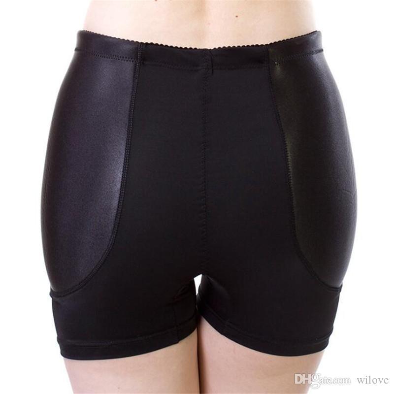 Yeni Sahte Kalça Pedleri Bayan Knickers Yastıklı İç Kalça Dolgu Artırıcı Bol Ass Butt Shaper Külot Külot Boyshorts Traceless