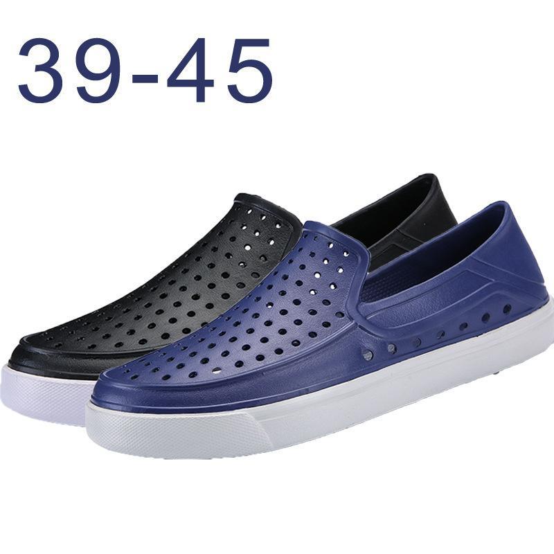 Charming2019 Flat Reverent Cross Bottom Dawdler Garden Shoe Hollow Out Pies establecidos Baotou Beach Shoes