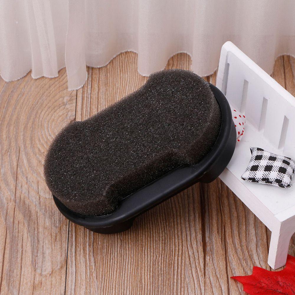 EYKOSI Schnellpolitur Schuhe Reinigungsbürste Reinigungsflüssigkeit Wachs Leder Polierschwamm