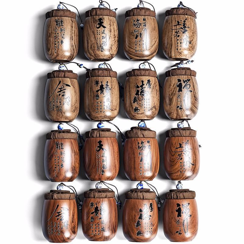 Retro mini garrafas de armazenamento de chá frascos de cozinha para especiarias roxas argila de chá recipiente de chá latas de chá Candy caddy botes para alimentos alimentos vasilha