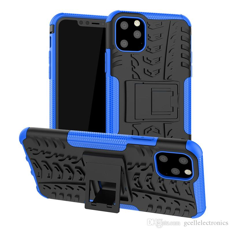Per Iphone 12 Pro Samsung Galaxy Note 20 S20 Ultra LG Stylo 6 Copertura ibrida Holder Armatura Kickstand di caso Tire design del telefono cellulare
