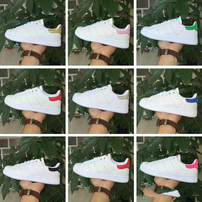 de grandes marques de mode chaussures Stan Smith hommes de femmes chaussures de sport blanc 36-44 Musial chaussures de planche à roulettes Stan Smith
