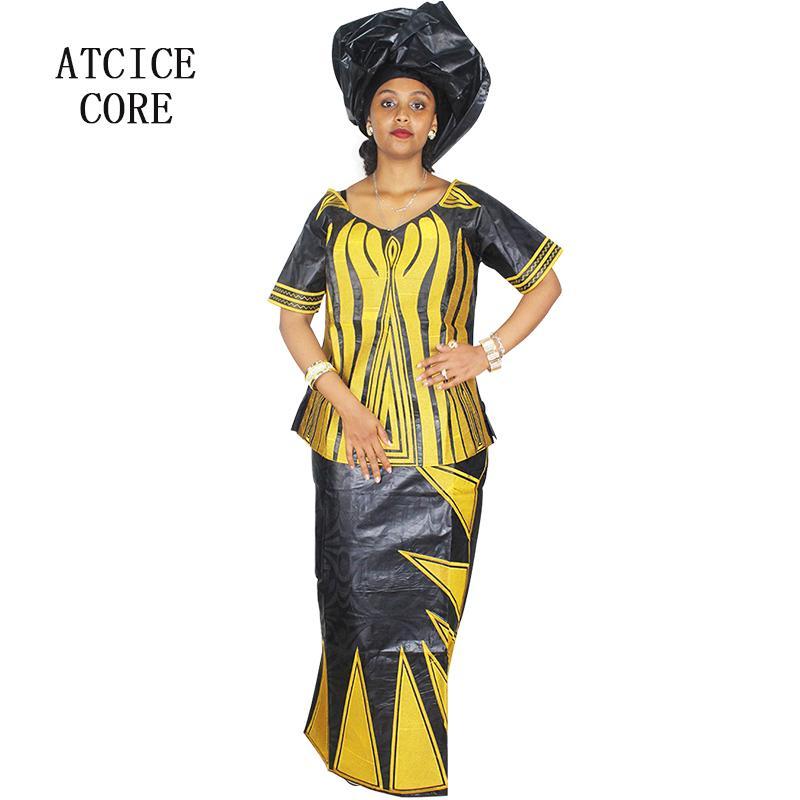 Vêtements ethniques Robes africaines pour femmes 100% coton Tradition Design Robe longue