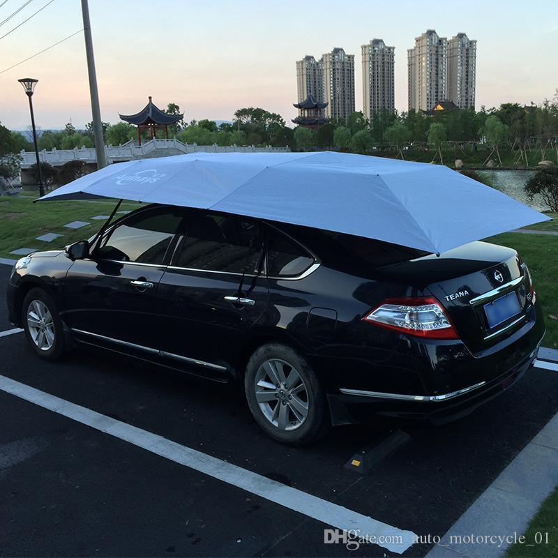 Электрический автомобиль зонтик автоматический зонт с дистанционным управлением 4.2*2.2 м автомобильная крыша палатка авто щит зонт протектор GGA2190