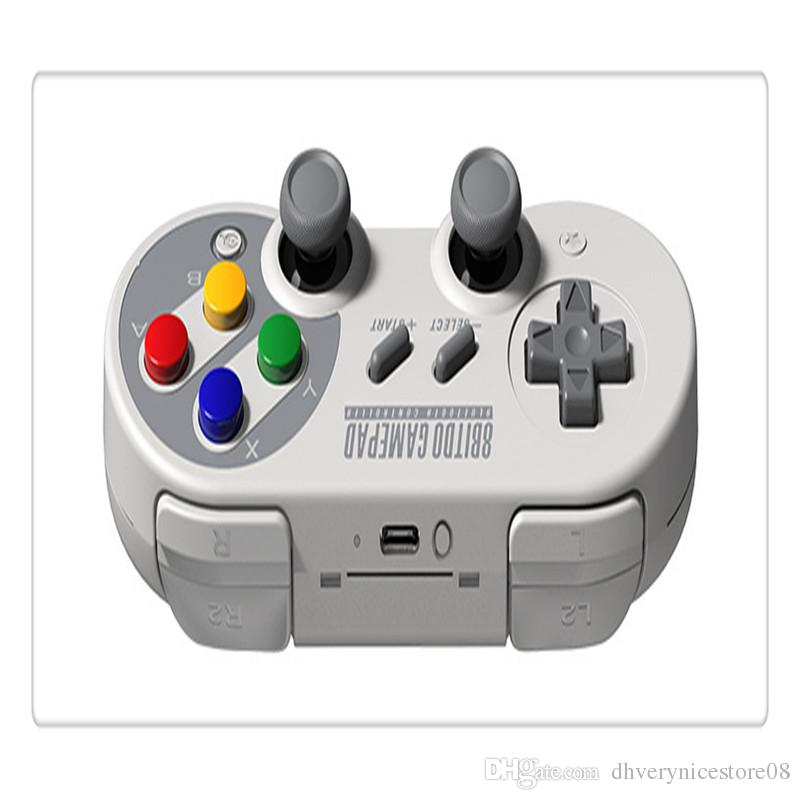 Wireless Bluetooth Gamepad Game Controller for Mac mode and Nintendo Switch mode with USB Cable High Quality