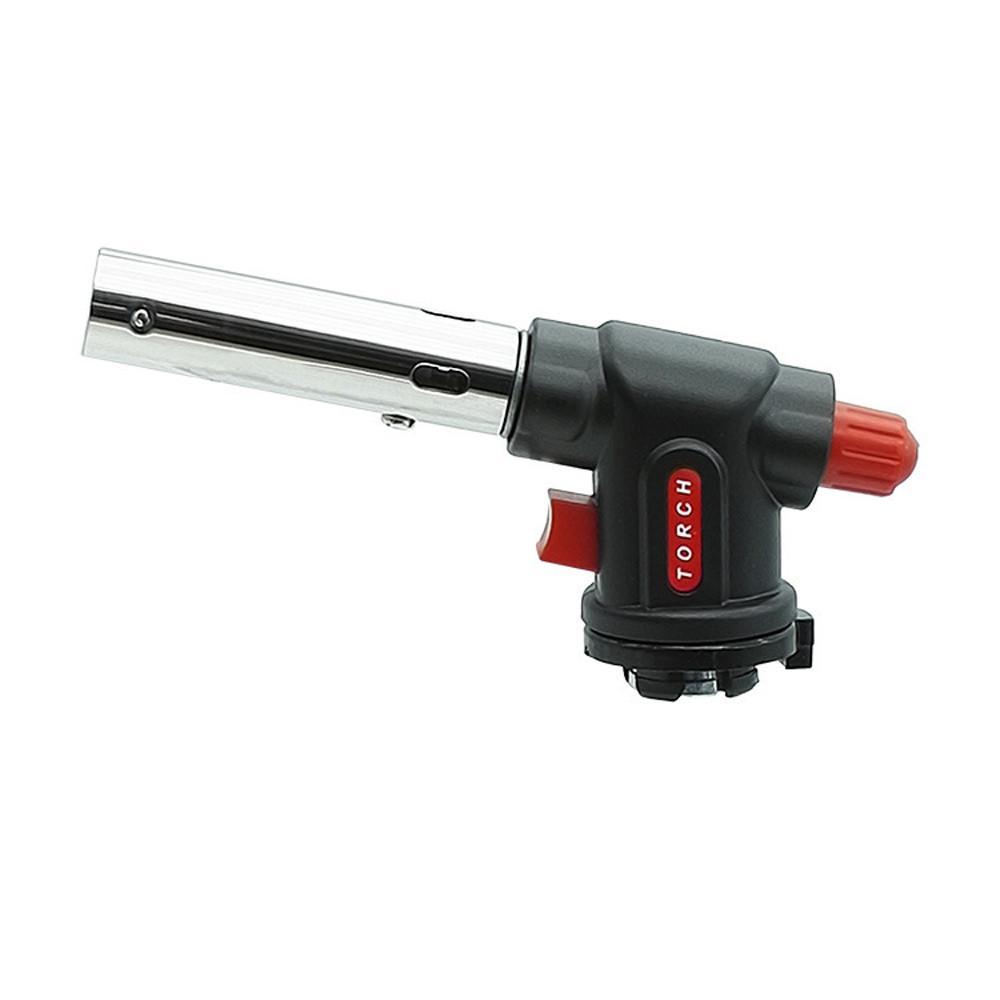 Electronic Welding Gas Gun Gas Butane Blow Gas Torch Burner Flamethrower Butane Burn Auto Ignition Lighter Gun Flame Lighter#X