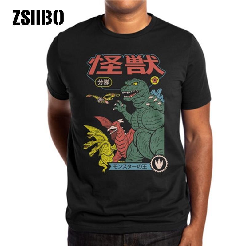 ZSIIBO 신인 사탄 T 셔츠 악마 죽음의 공포 악 힙합 사단 죽음 인쇄 t 셔츠 남성 / 여성