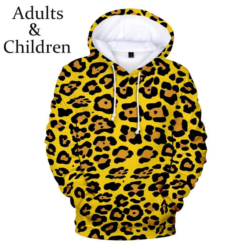 Hot animal texturer 3D Hoodies Hommes Femmes d'hiver overs enfants avec capuche oversize enfants Sweats Garçons Filles Tops Hoodie 3D