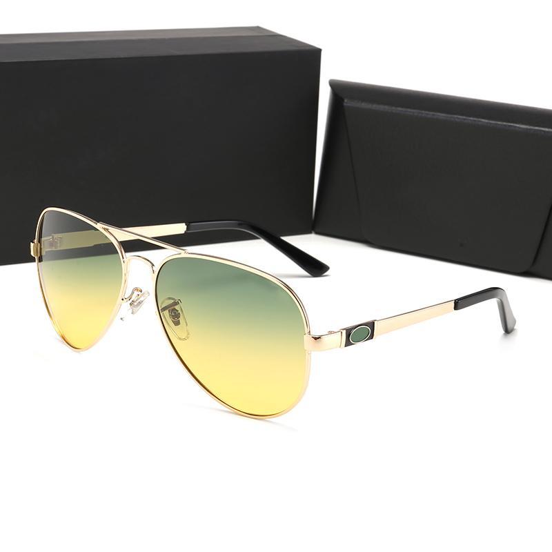 concepteur lunettes de soleil Grand carré cadre généreux style d'été Cadre Couleur mixte Protection UV Lentille F46MAT shiping libre de haute qualité