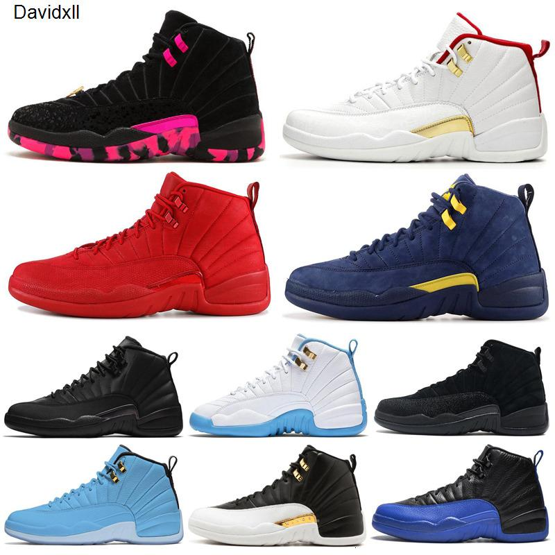 2020 hot Basketball Shoes 12 12s Men Shoe Doernbecher Wings Reverse Taxi Game Royal French Blue Mens Trainers Outdoor Sports Sneakers 7-13