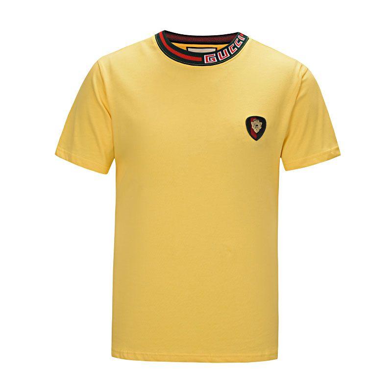 Nouveau shirt 2019 été designer T-shirt pour hommes shirt lettre lettre broderie T-shirt de vêtements pour hommes marque T-shirt à manches courtes ### 55
