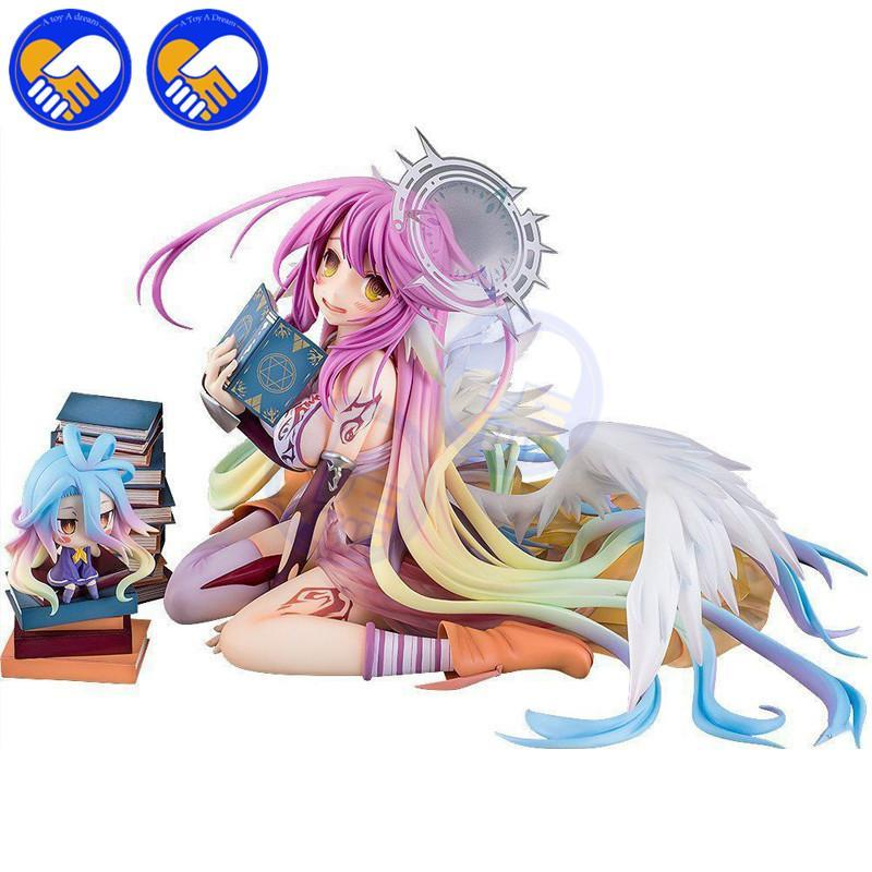 NEW Anime NO GAME NO LIFE Flueqel Jibril Close Irregular Number PVC Action Figure 1/7 Scale model Best Collection Toys In Box