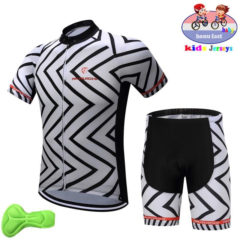 2019 été enfants Maillot cyclisme Set Bike Jersey Shorts Route Enfant Montagne VTT Vêtements de vélo Maillot Ropa Ciclismo