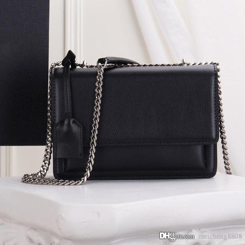 Único Shoulder Bag Couro Designer Luxo Mulheres Moda do clássico Fazendo Electroplated Antique Gold Hardware Retro Bolsa NB: 1737
