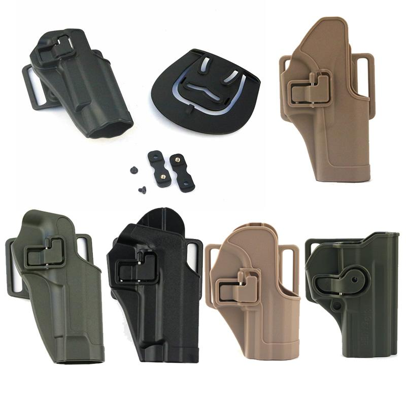 Tactical Airsoft Fast Holster Accessory Busta Associazione Fast Gun Airgun 1911 G17 M9 P266 USP SIG Nylon Tactical Holster no06-127