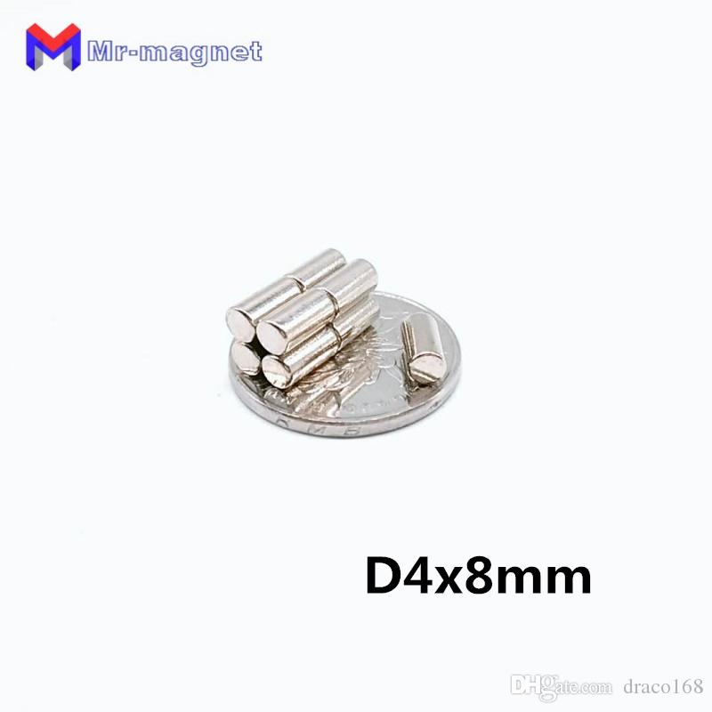 2019 imanes 2018 Time-limited Imanes De Nevera 50pcs Neodymium Magnet Super Strong Disc Practical Magnets Dia 4x8mm 4x8 4*8 D4x8 D4*8 mm