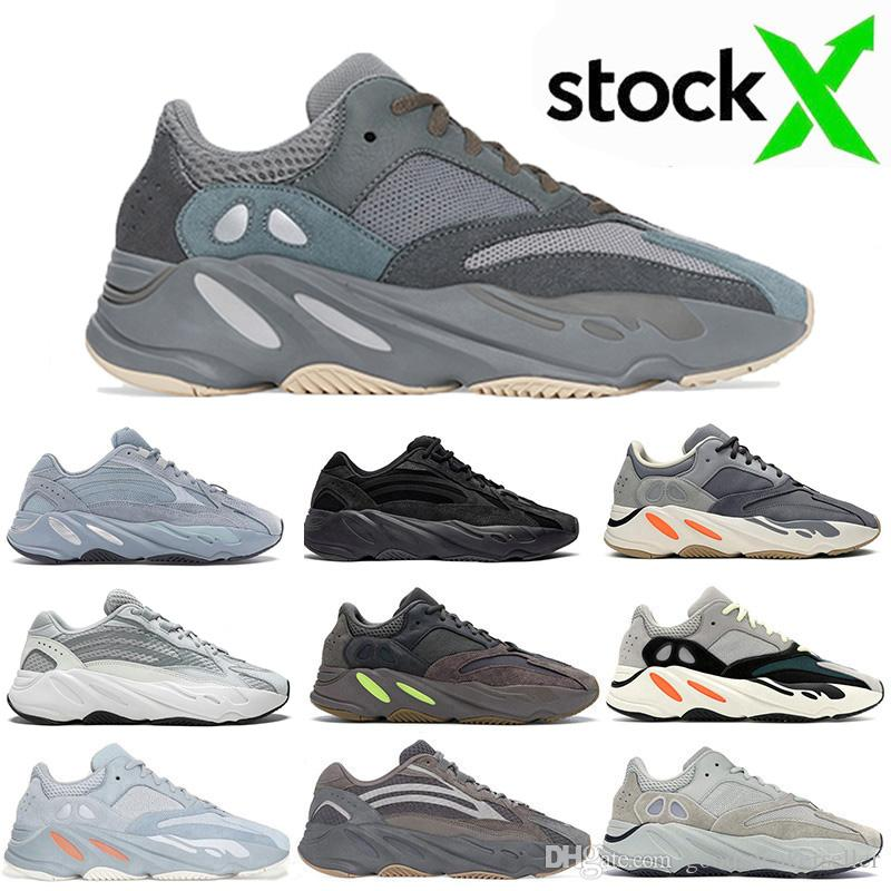 2020 Teal Blue Hospital Blue Magnet Kanye West 700 mens Running Shoes Inertia Vanta Tephra 700s Static Salt Women Wave Runner Mauve sneakers