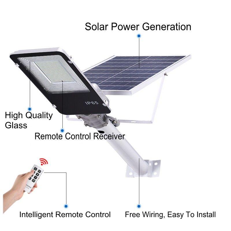 Novo cenário foco levou construção holofotes lâmpada conduzida 20W 30W 50W LED de 150W exterior iluminação em luz ao ar livre rua de energia solar