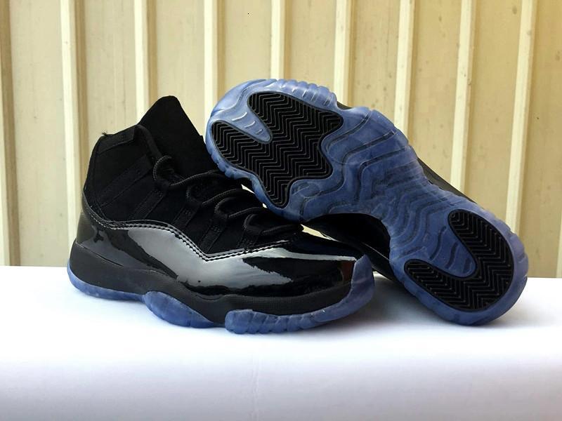 Cap XI desconto New 11 e Vestido de basquete masculino sapatos pretos das sapatilhas esportivas de moda ao ar livre formadores AZUL boa atacado tamanho qualidade