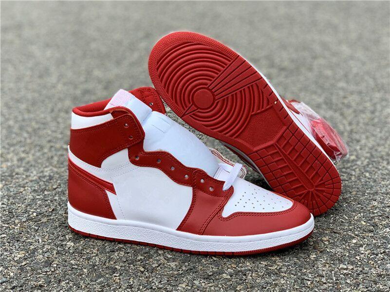 2020 Новых 1S I Chicago Black размера пальца ноги мужчины баскетбол обувь спортивных кроссовок 1S ЧЕРНЫЙ мода на открытом воздух тренеров высшего качества 7-12