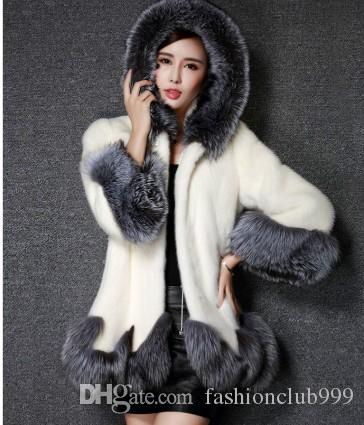 O Envio gratuito de Nova Chegada Venda Quente Especial de Moda Feminina Versão Coreana Ovelhas de Inverno de Pelúcia De Pelúcia Fino Casaco De Algodão De Imitação de Pele De Alta-end