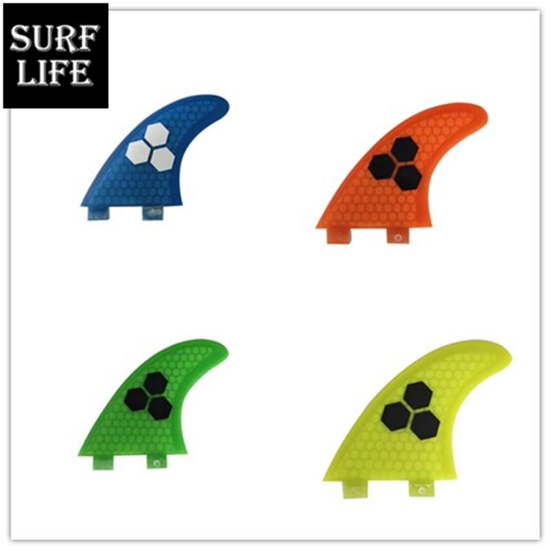 2020 Branded New FCS Base Surf Tail Keels Medium G5 3pcs One Set Different Color FCS Surfboard Fins